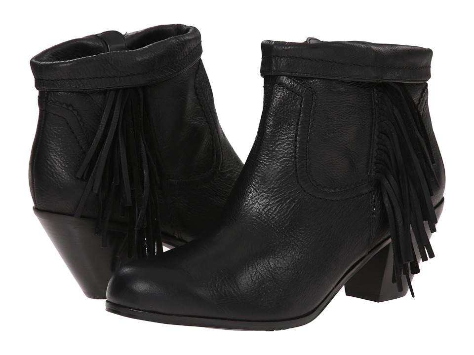 Sam Edelman - Louie (Black Leather 3) Women