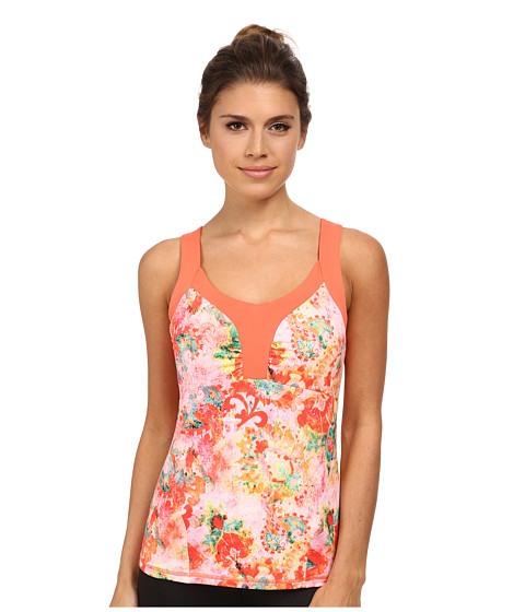 The North Face - Echo Lake Tank (Emberglow Orange Print) Women