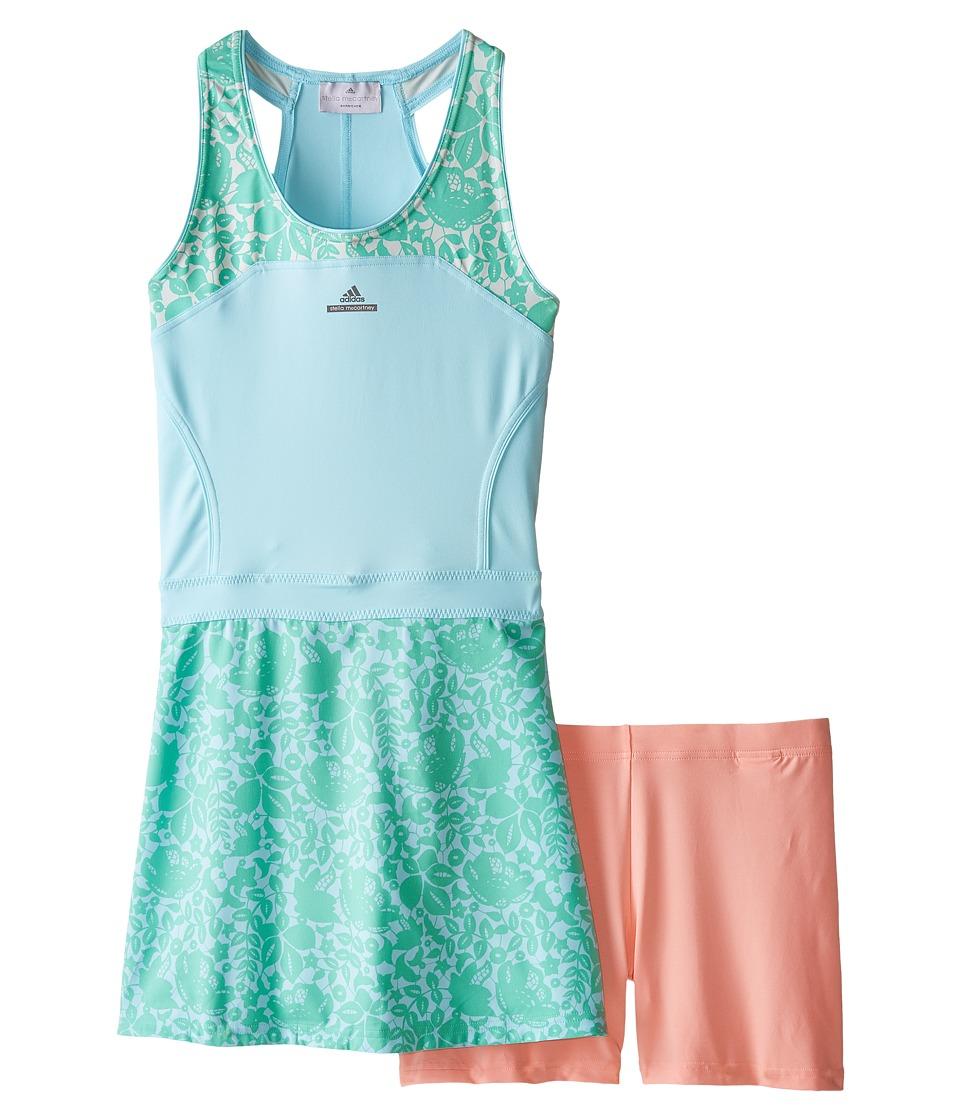 adidas Kids - Stella McCartney Barricade Dress (Little Kids/Big Kids) (Sky Blue/Mint) Girl