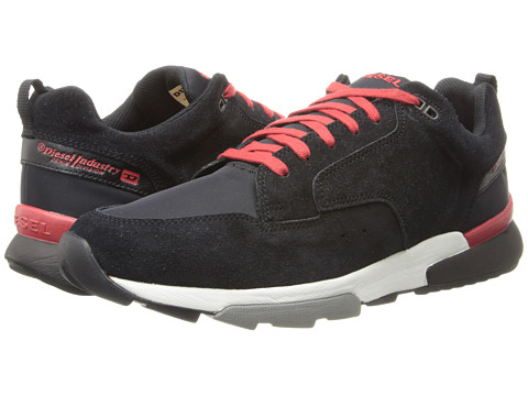 Diesel - SG Low (Black/Pompeian Red) Men