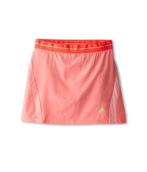 adidas Kids - Adizero Skort (Little Kids/Big Kids) (Light Flash Red/Light Flash Green) Girl's Skort