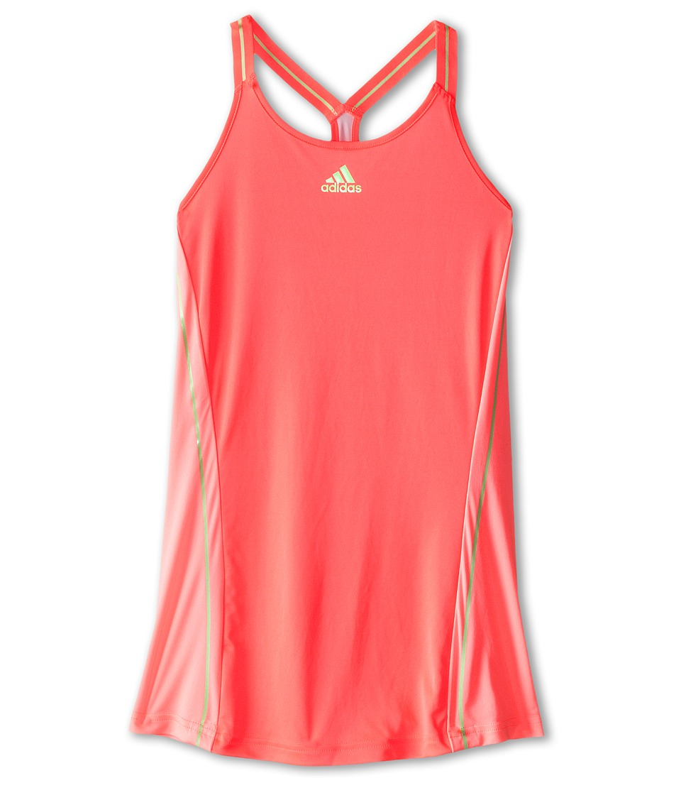 adidas Kids - Adizero Tank Top (Little Kids/Big Kids) (Flash Red/Light Flash Green) Girl's Sleeveless