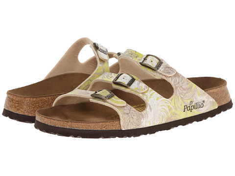 Birkenstock - Florida by Papillio (Chrysanthemum Yellow Birko-Flor ) Women's Shoes