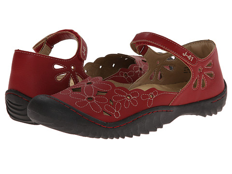 J-41 - Lotus (Red) Women's Shoes