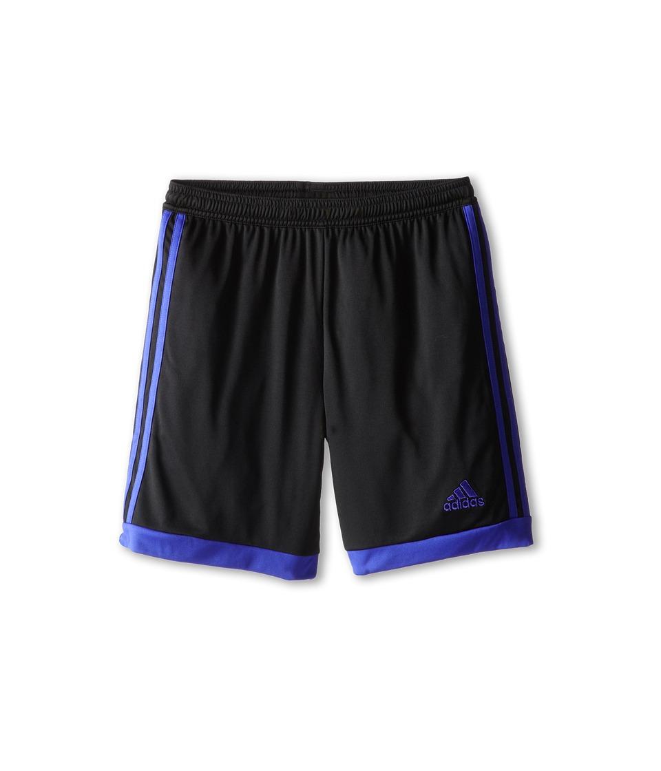 adidas Kids - Tastigo 15 Short (Little Kids/Big Kids) (Black/Night Flash) Girl's Shorts