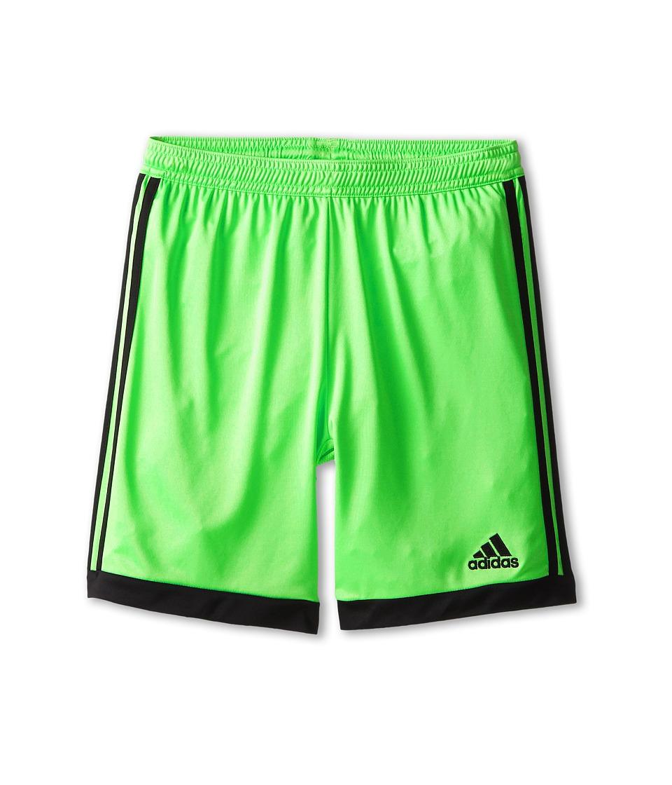 adidas Kids - Tastigo 15 Short (Little Kids/Big Kids) (Flash Green/Black) Girl's Shorts