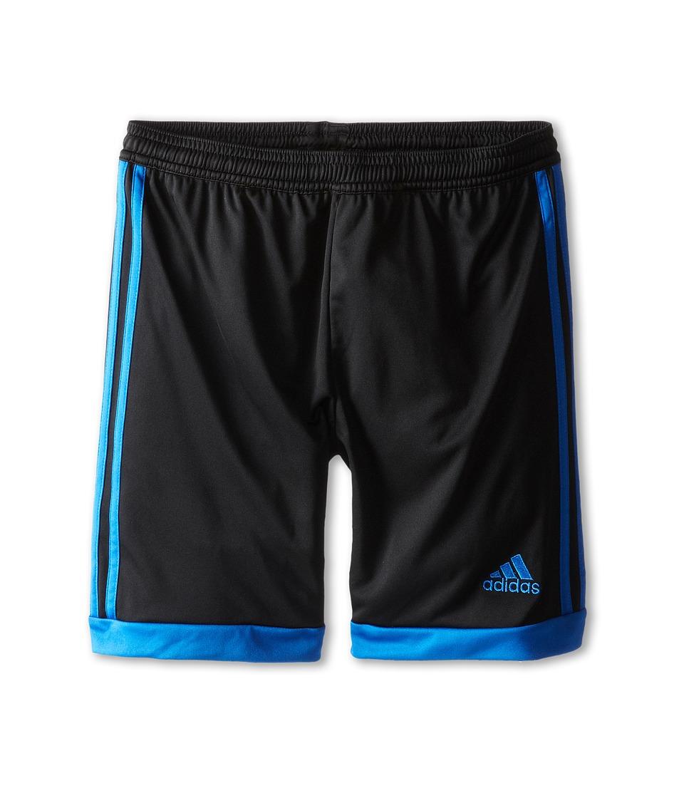 adidas Kids - Tastigo 15 Short (Little Kids/Big Kids) (Black/Bright Royal) Girl's Shorts