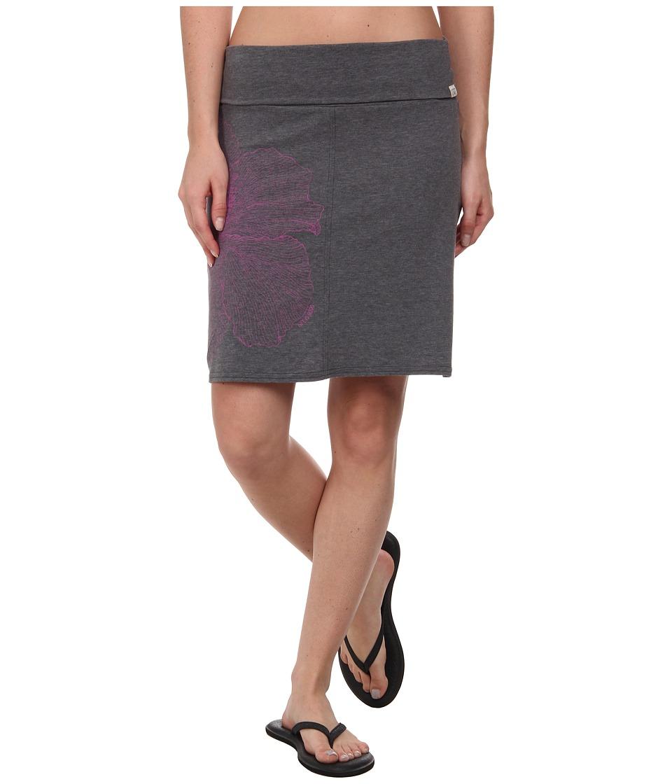 Life is good - Foldover Skirt (Night Black) Women's Skirt