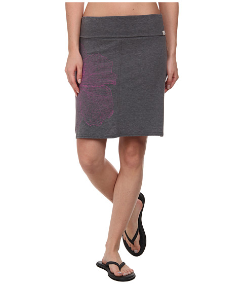 Life is good - Foldover Skirt (Night Black) Women's Skirt