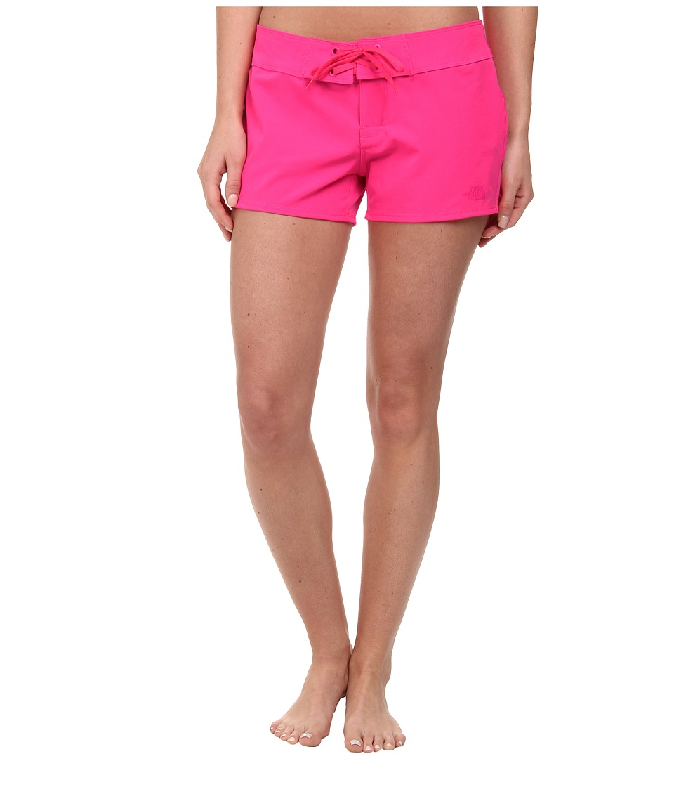 The North Face - Pacific Creek Boardshort (Glo Pink) Women's Swimwear