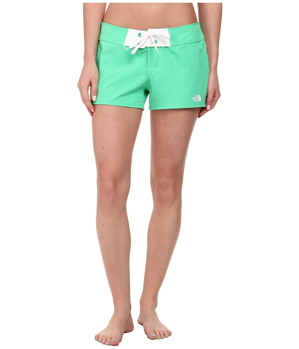 The North Face - Pacific Creek Boardshort (Surreal Green) Women's Swimwear
