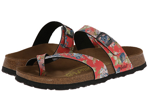 Birkenstock - Tabora by Papillio (Rambling Rose Red Birko-Flor ) Women