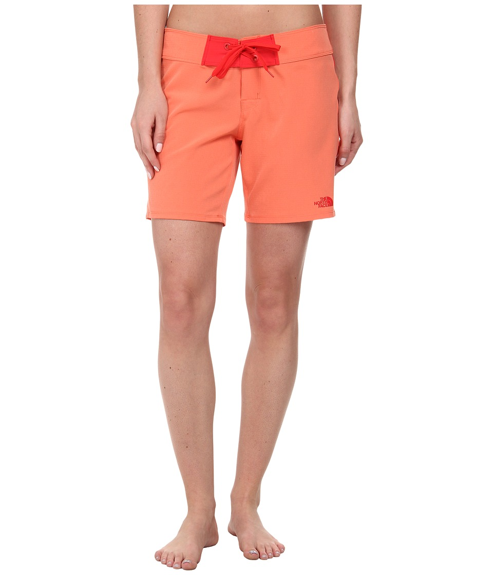 The North Face - Pacific Creek Boardshort (Emberglow Orange) Women's Swimwear