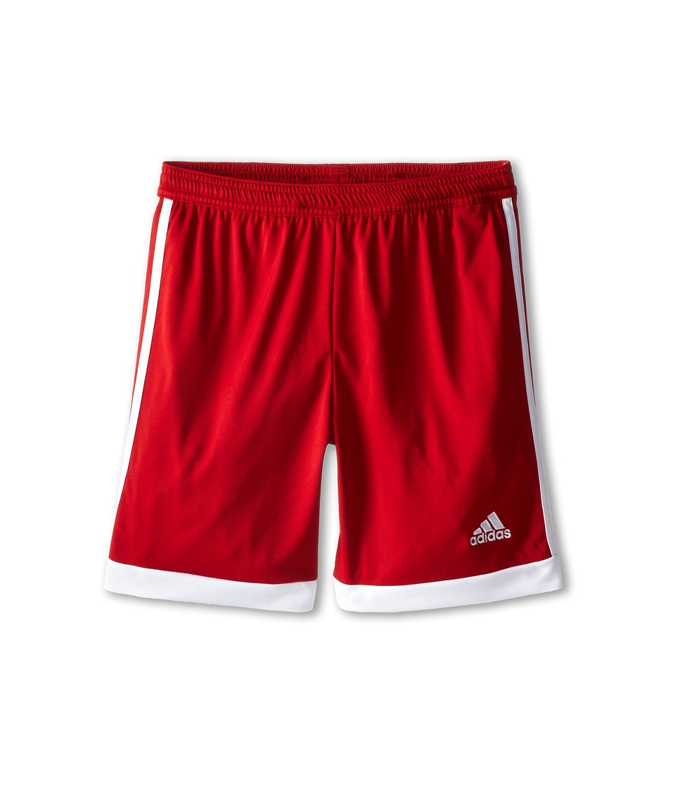 adidas Kids - Tastigo 15 Short-Drydye (Little Kids/Big Kids) (Power Red/White) Girl's Shorts