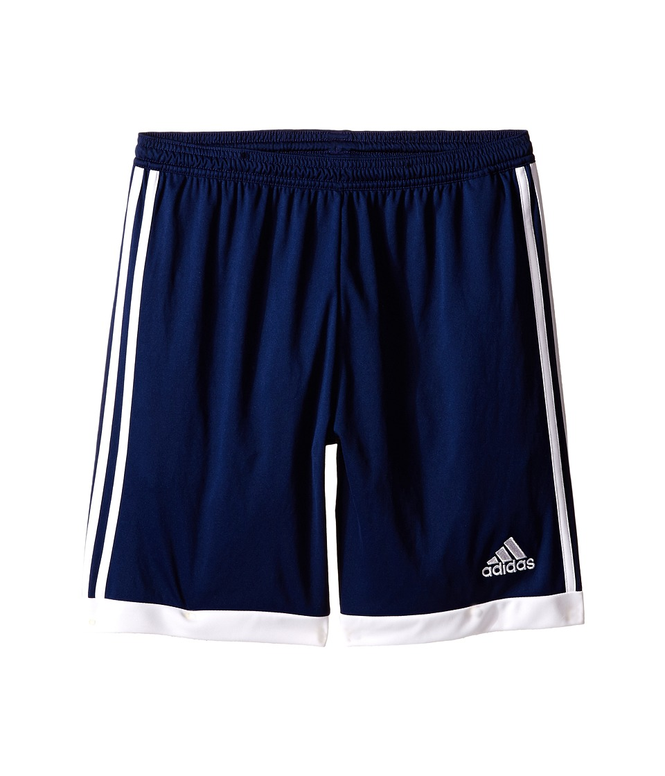 adidas Kids - Tastigo 15 Short-Drydye (Little Kids/Big Kids) (Dark Blue/White) Girl's Shorts