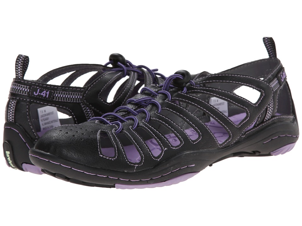 J-41 - Lagoon - Barefoot (Black/Lavender) Women's Shoes