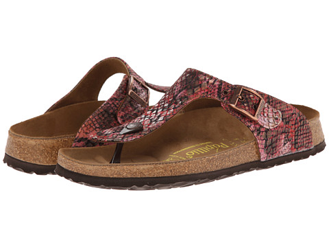 Birkenstock - Gizeh by Papillio (Summer Red Textile) Women's Shoes