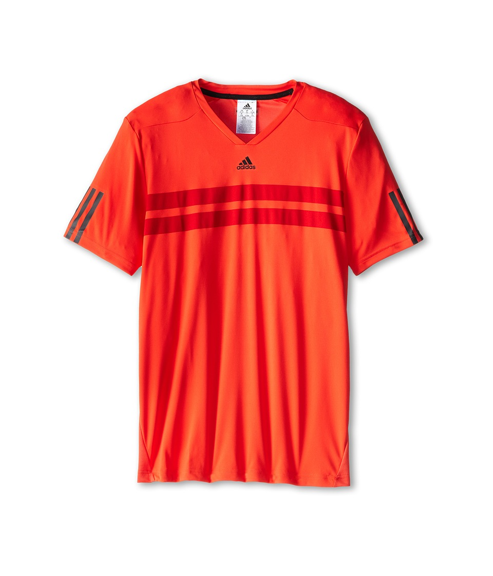adidas Kids - Barricade Andy Murray Tee (Little Kids/Big Kids) (Bright Red) Boy's T Shirt