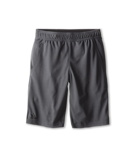 adidas Kids - Adizero Bermuda (Little Kids/Big Kids) (DGH Solid Grey/Gun Metal) Boy's Shorts