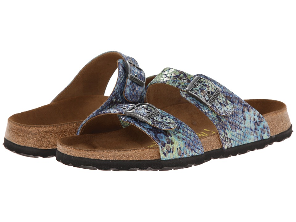 Birkenstock - Sydney by Papillio (Summer Blue Textile) Women's Sandals