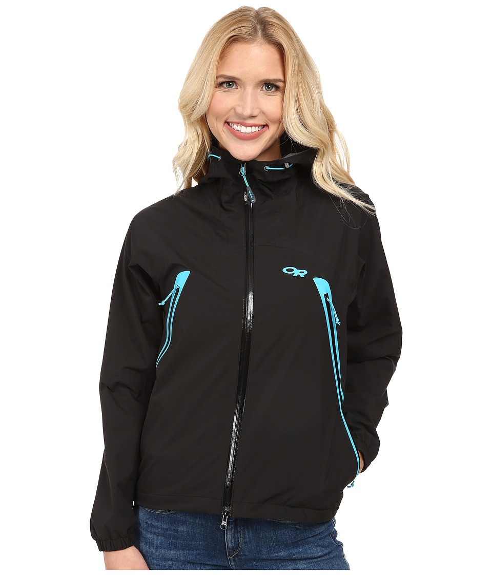 Outdoor Research - Allout Hooded Jacket (Black/Rio) Women's Coat