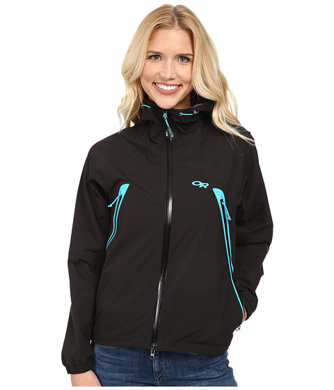 Outdoor Research - Allout Hooded Jacket (Black/Rio) Women