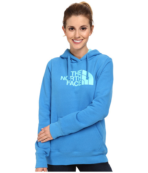 The North Face - Half Dome Hoodie (Clear Lake Blue/Fortuna Blue) Women's Sweatshirt