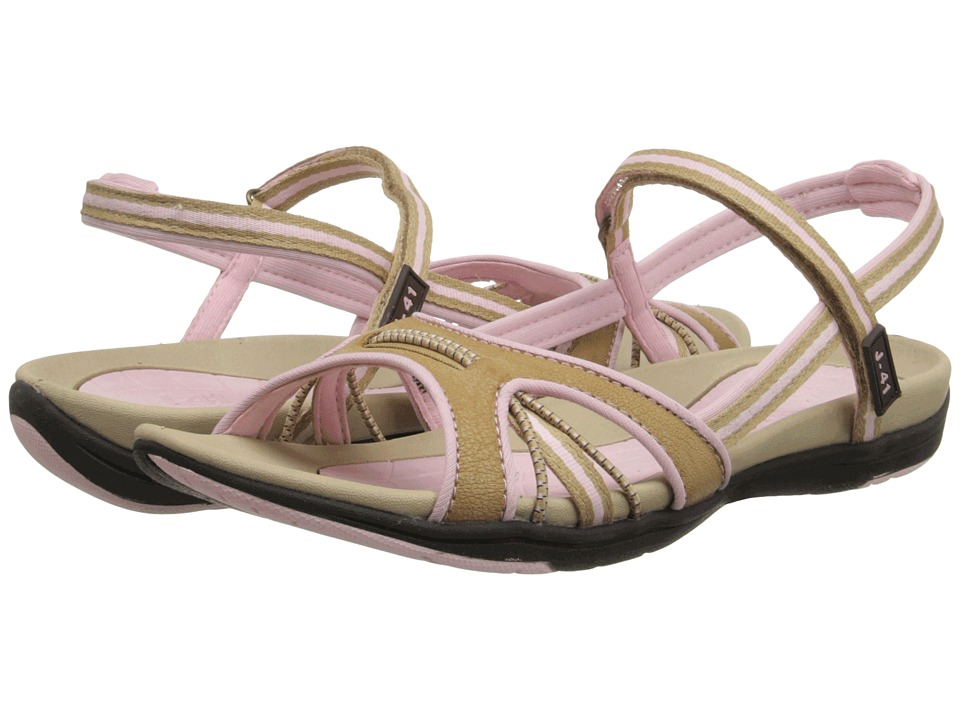J-41 - Molly (Tan/Pink) Women's Shoes