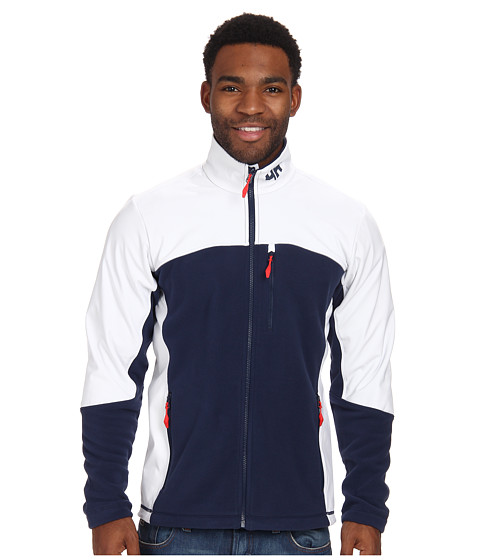 Helly Hansen - Crew Fleece Jacket (Evening Blue) Boy