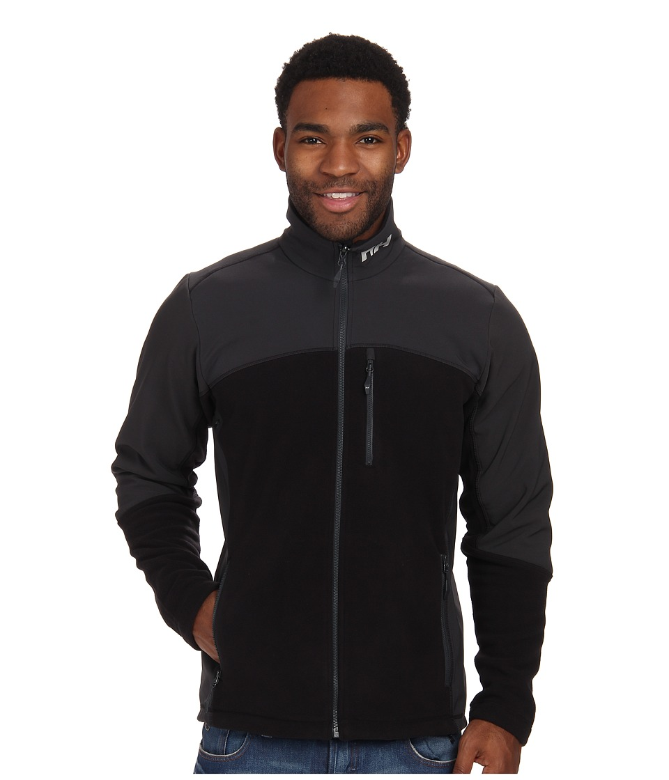 Helly Hansen - Crew Fleece Jacket (Black) Boy's Coat