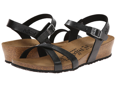 Birkenstock - Alyssa by Papillio (Graceful Licorice Birko-Flor ) Women's Sandals