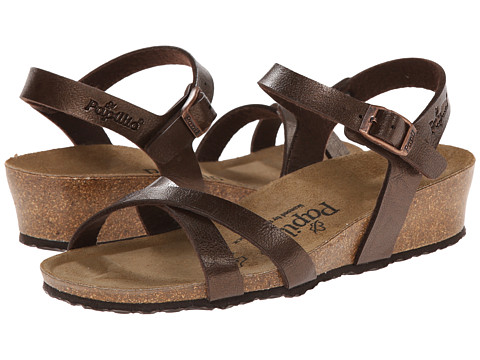 Birkenstock - Alyssa by Papillio (Graceful Toffee Birko-Flor ) Women's Sandals