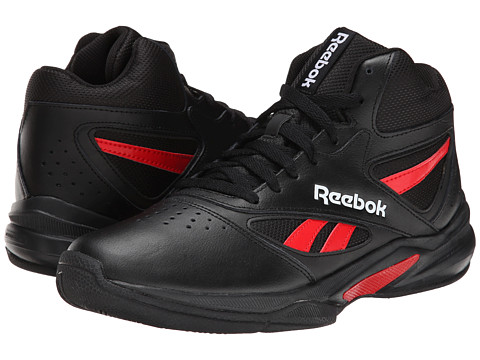 Reebok - Pro Heritage 1 (Black/Red Rush/White) Men's Shoes