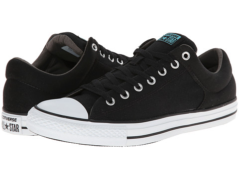 Converse - Chuck Taylor All Star High Street Ox (Black/Charcoal/White) Shoes