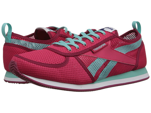 Reebok - Royal CL Jogger SE (Blazing Pink/Bing Cherry/Crystal Blue/White) Women