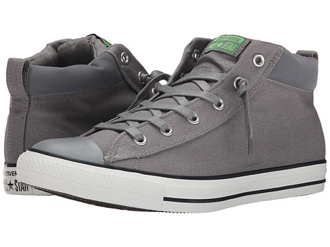 Converse - Chuck Taylor All Star Street Mid (Mason/Mouse/Emerald) Shoes