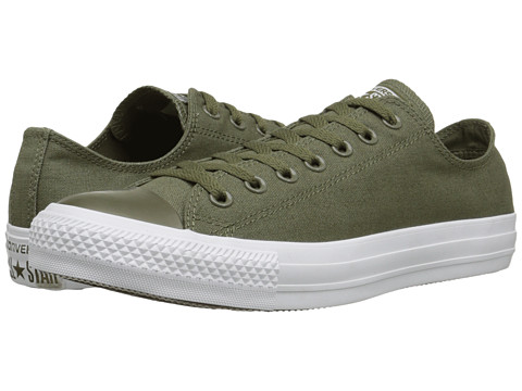 Converse - Chuck Taylor All Star Tonal Plus Ox (Surplus Green/Surplus Green/White) Classic Shoes
