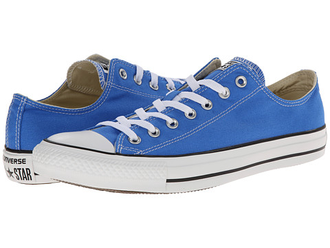 Converse - Chuck Taylor All Star Dainty Seasonal Color Ox (Light Sapphire) Women's Shoes