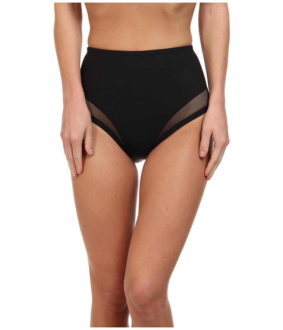 Miraclesuit Shapewear - Extra Firm Sexy Sheer Waistline Brief (Black) Women's Underwear