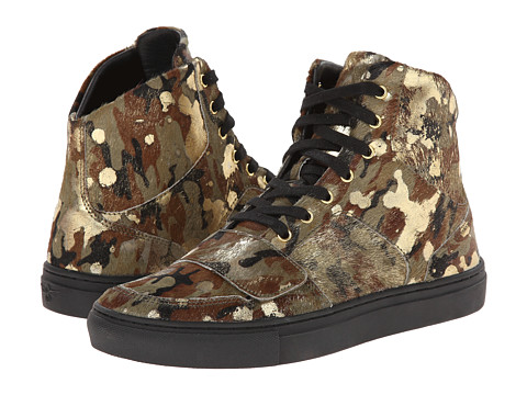 Creative Recreation - Cesario X (Camo/Gold/Black) Men's Shoes