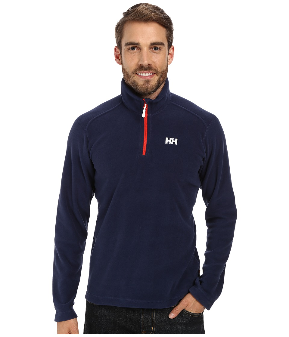 Helly Hansen - Daybreaker 1/2 Zip Fleece (Evening Blue) Boy's Fleece