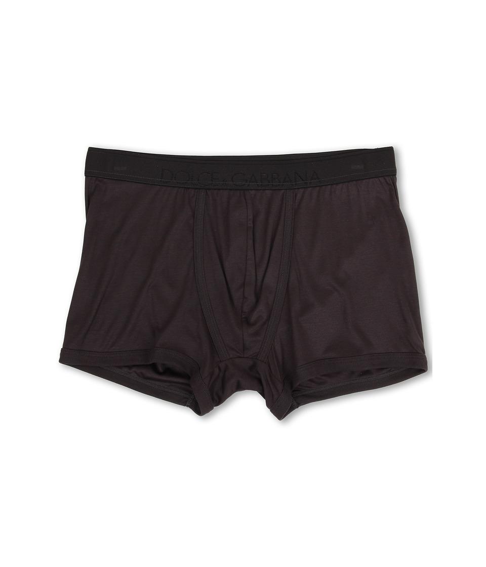 Dolce & Gabbana - Silk Modal Regular Boxer (Anthracite) Men's Underwear
