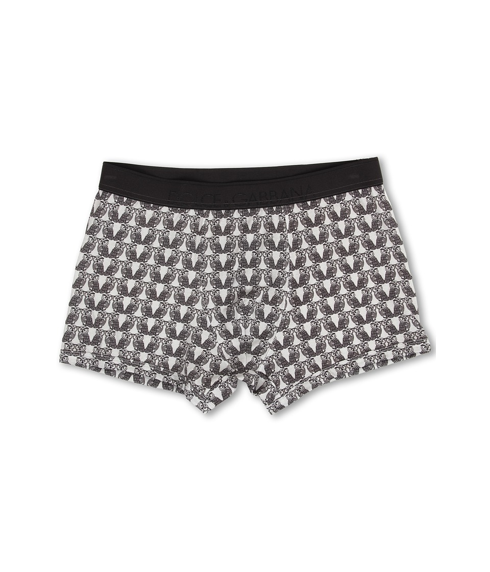 Dolce & Gabbana - Owl Regular Boxer (Owl Print) Men's Underwear