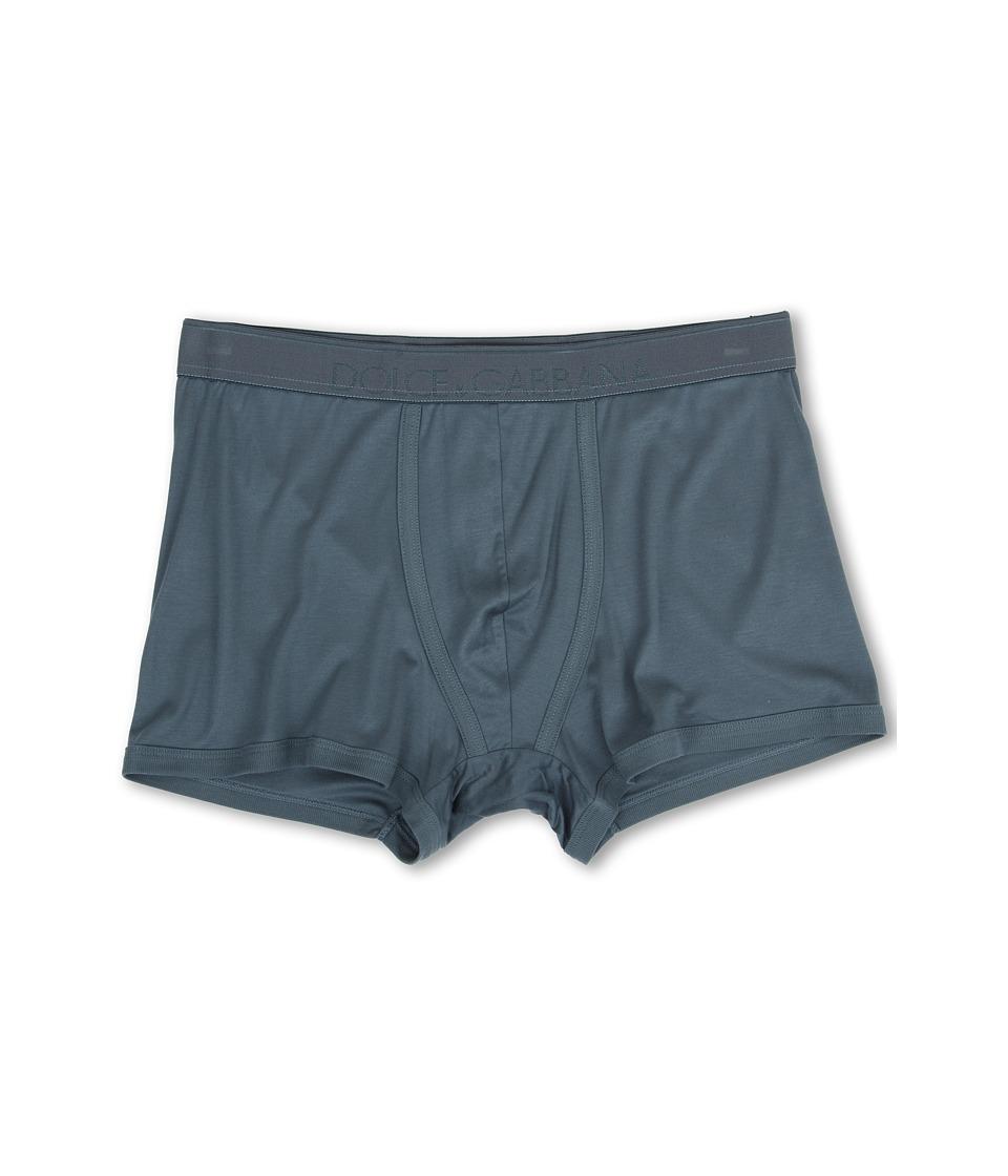 Dolce & Gabbana - Silk Modal Regular Boxer (Oil) Men's Underwear