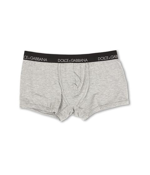 Dolce & Gabbana - Stretch Modal Regular Boxer (Grey Melange) Men's Underwear