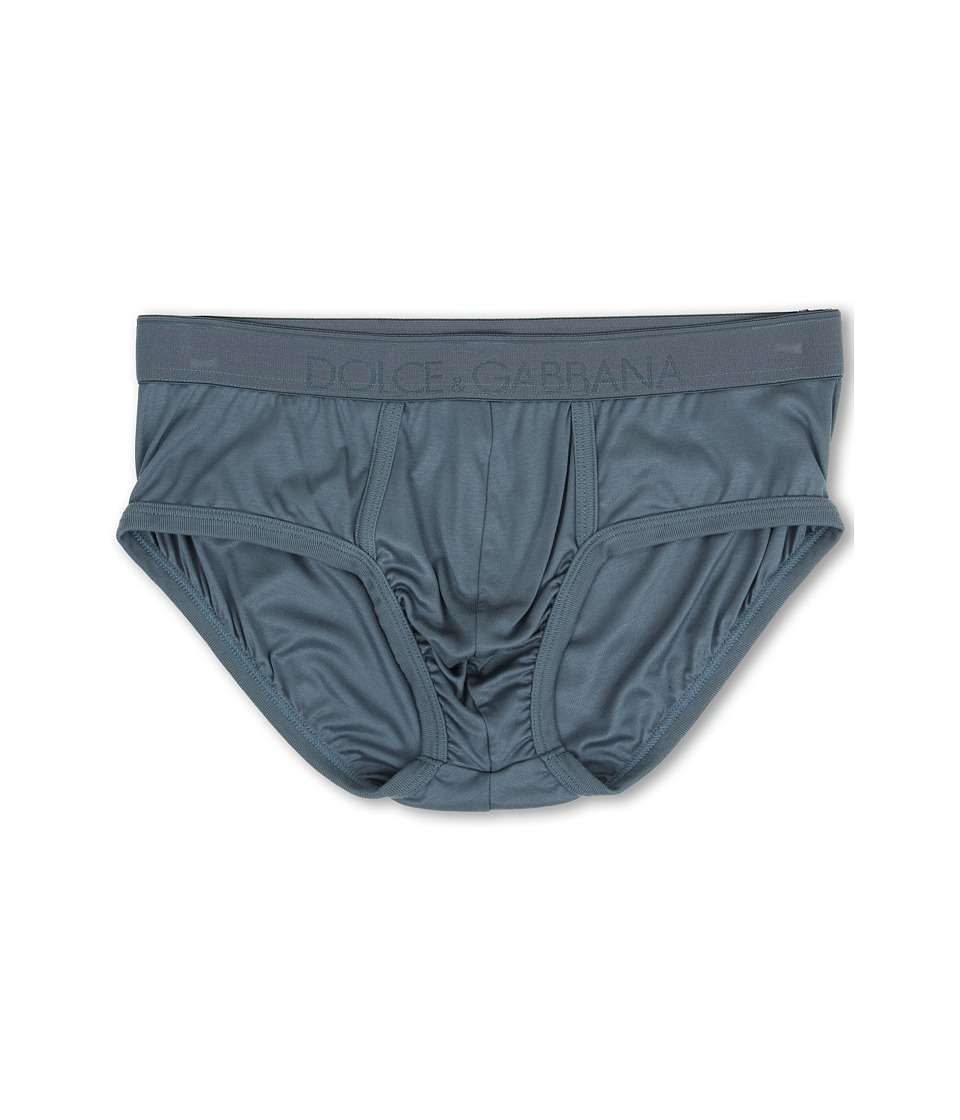 Dolce & Gabbana - Silk Modal Brando Brief (Oil) Men's Underwear