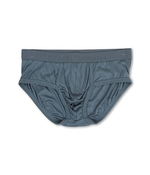 Dolce & Gabbana - Silk Modal Brando Brief (Oil) Men's Underwear
