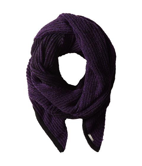 Calvin Klein - Link Stripe Angled End Scarf (Violet) Scarves