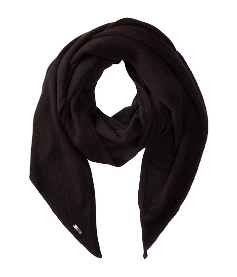 Calvin Klein - Angled Edge Scarf (Black) Scarves