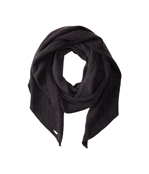 Calvin Klein - Angled Edge Scarf (Charcoal) Scarves